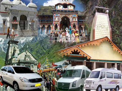 Chardham Taxi Tour Package