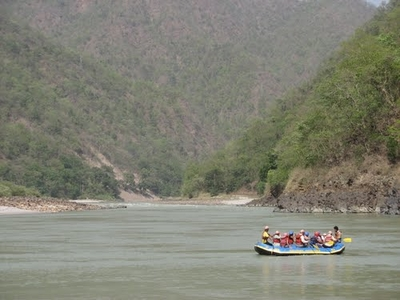 River Rafting in Barkot