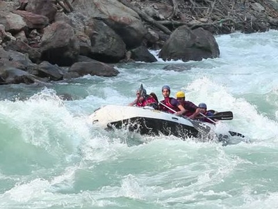 River Rafting in Damta