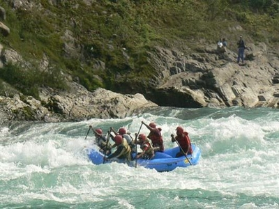 River Rafting in Mori