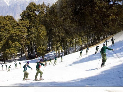 Auli Skiing Package Ex Haridwar
