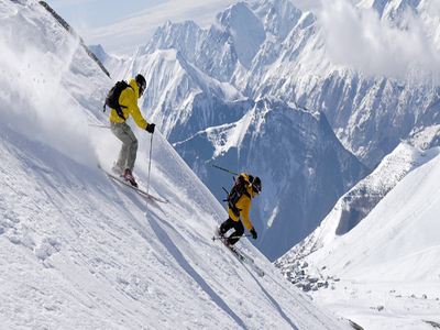 Skiing in Uttaranchal