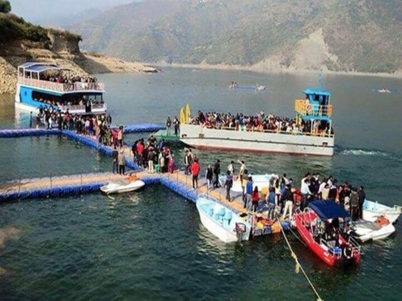 Tehri Lake Water Sports